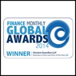 Global Awards 2014 Winner Rustem Guardian Solicitors