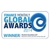 Global Awards 2014 Winner Rustem Guardian Solicitors